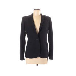 J crew Black wool blazer size 6